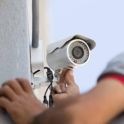 نصب دوربین مدار بسته-